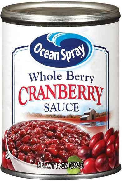 Ocean Spray Cranberry Sauce