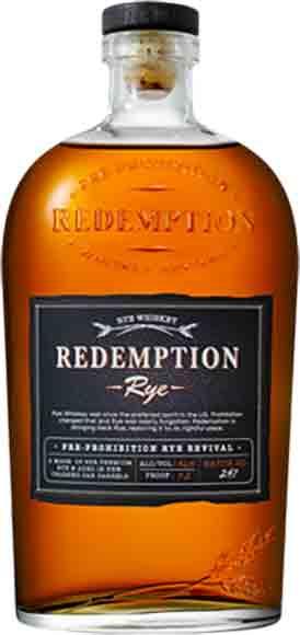 Redemption Rye orBourbon
