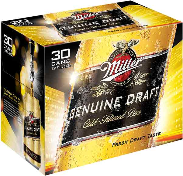 Miller Genuine Draft 30-Packs
