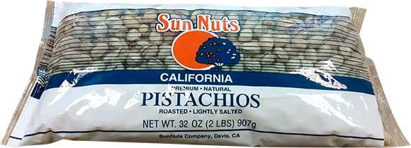Sun Nuts Pistachios