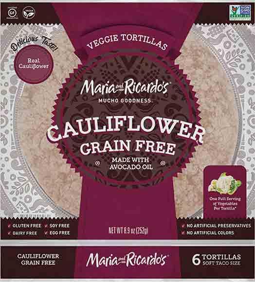 Maria and Ricardo's Grain-FreeTortillas