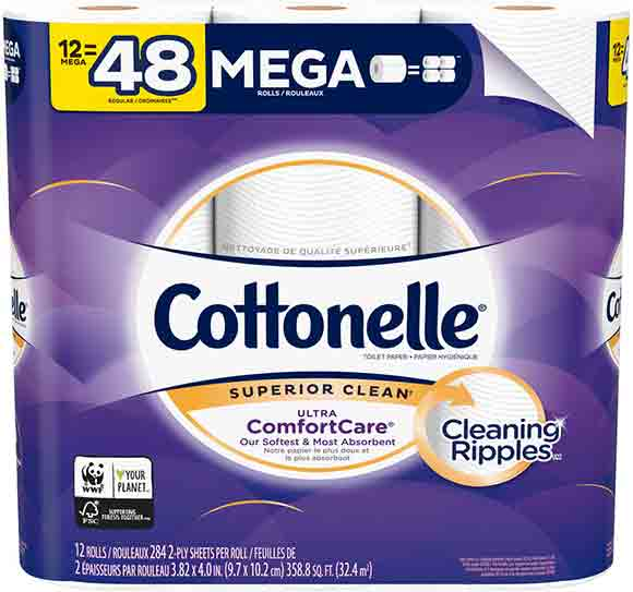 Cottonelle Mega Roll Bath Tissue