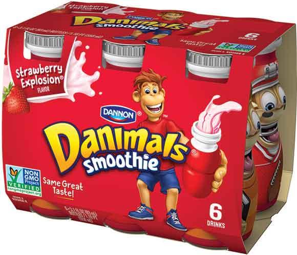 Danimals Strawberry Yogurt