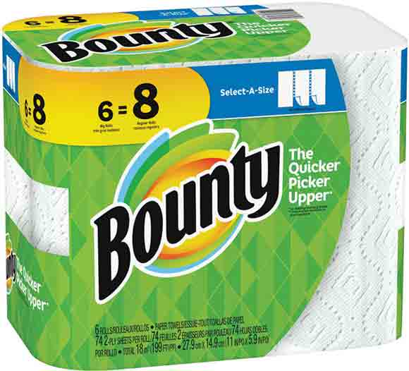 Bounty Big Roll Select-a-Size Paper Towels