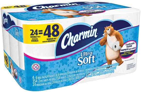 Charmin Ultra Soft Bath Tissue