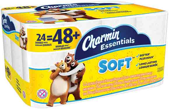 Charmin Essential Soft 24 Double Roll