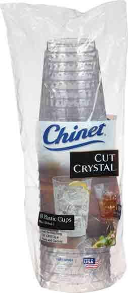 Chinet Crystal Tumbler