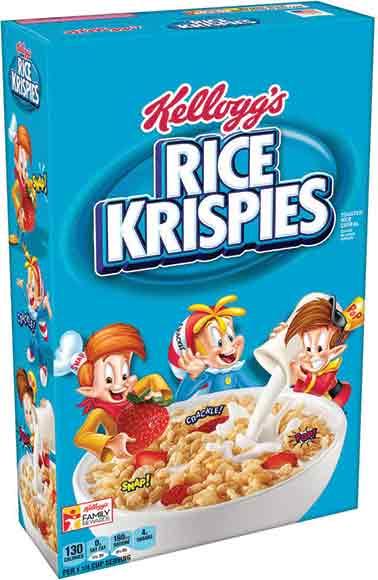 Kellogg's Rice Krispies Or Raisin Bran Cereals