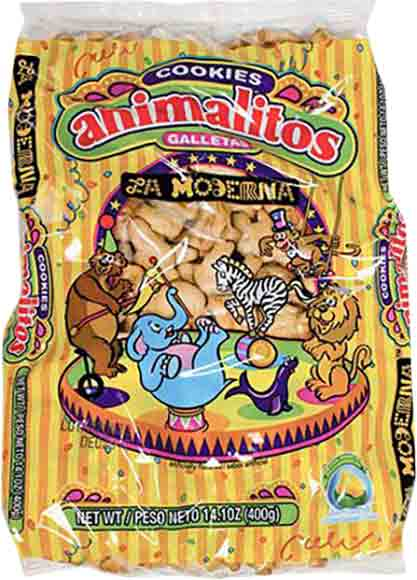 La Moderna Animal Cookies