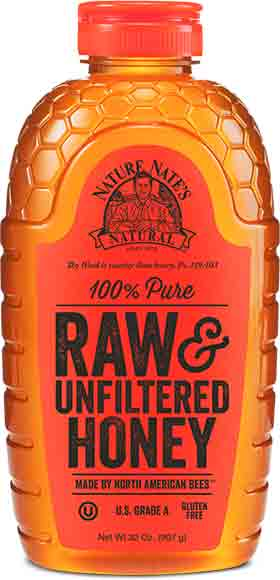 Nature Nate's Raw & UnfilteredHoney