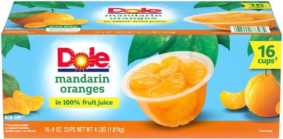 Dole Fruit Box Mandarin Orange