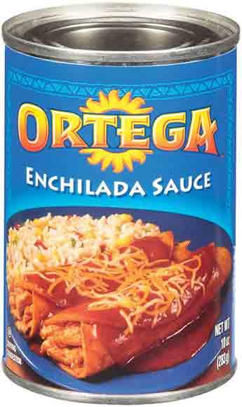 Ortega Enchilada Sauce