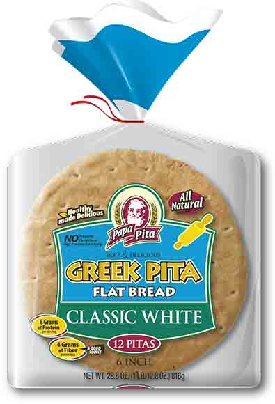 Papa Pita Pita Bread