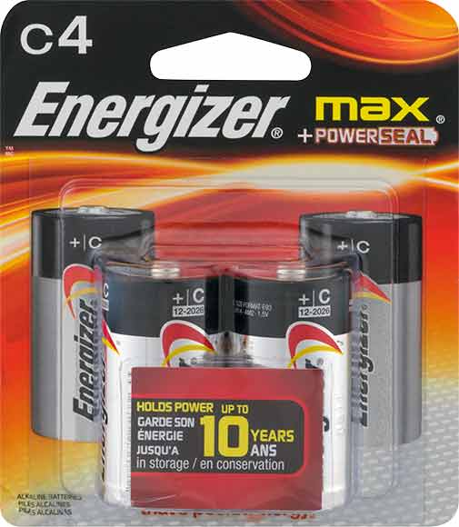 Energizer Max Pack Batteries