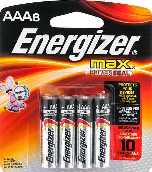 Energizer Max Pack Batteries