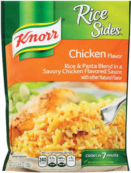 Knorr Rice or Pasta Sides
