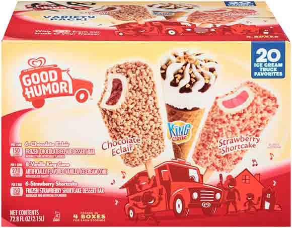 Good Humor Ice Cream Variety Pack