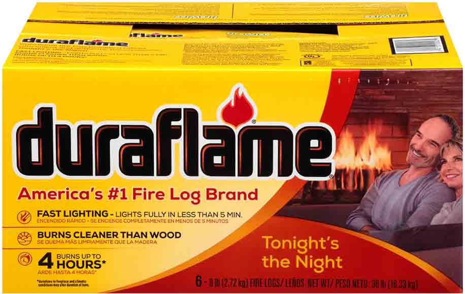 DuraFlame 6-Count Fire Logs
