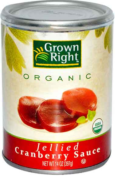 Grown Right Cranberry Sauce