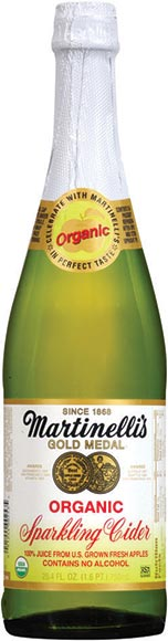 Martinelli's Organic Sparkling Apple Ciders