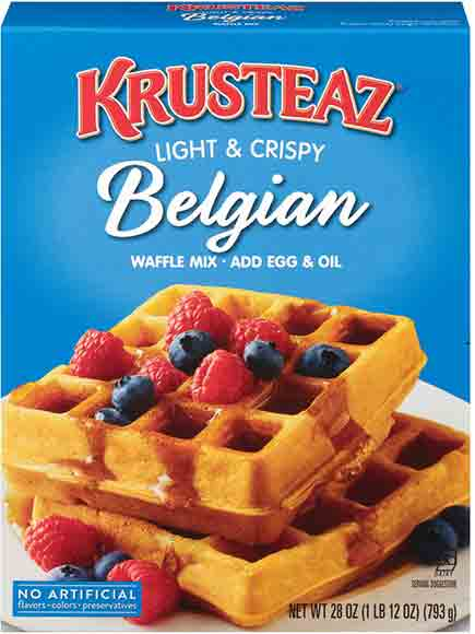 Krusteaz Pancake or Waffle Mixes