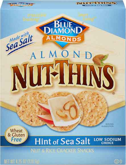 Blue Diamond Nut Thins Crackers