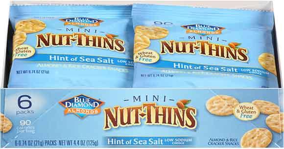 Blue Diamond Mini Nut Thins