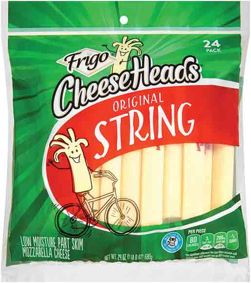 Frigo CheeseHeads String Cheese