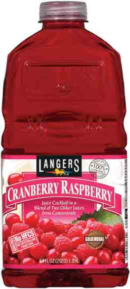 Langers Cranberry Juice Cocktail