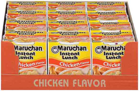 Maruchan Instant Lunch or Ramen Case