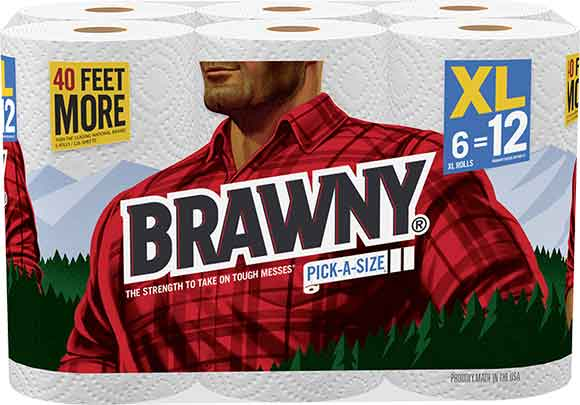 Brawny Extra Large Pick-A-Size Paper Towels