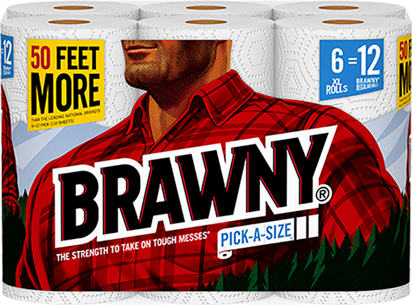 Brawny Pick-a-Size Extra Large Paper Towels