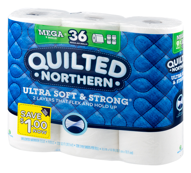 Quilted Northern Mega Roll Bath Tissue