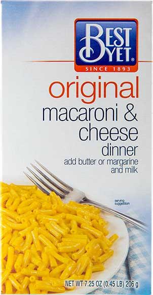Best Yet Macaroni & Cheese