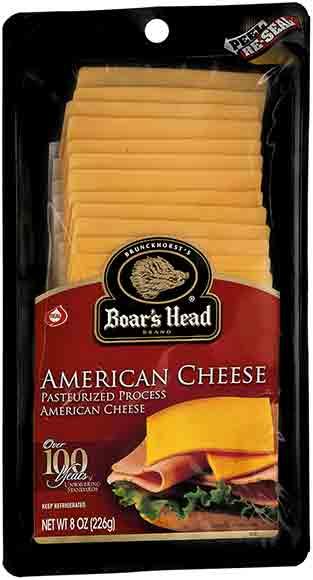 Boar's Head Sliced Cheese