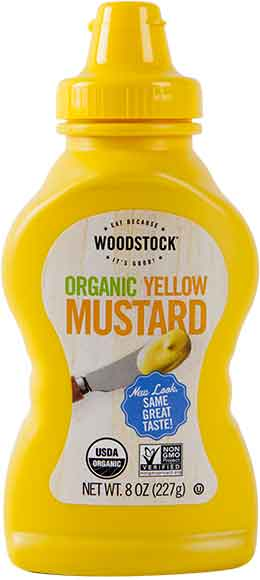 Woodstock Organic Yellow Mustard