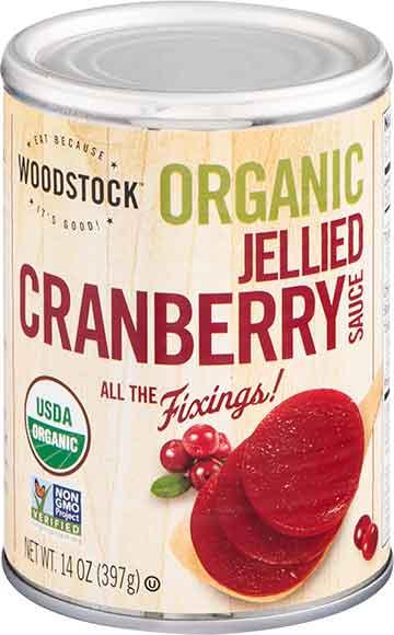 Woodstock Organic Jellied Cranberry