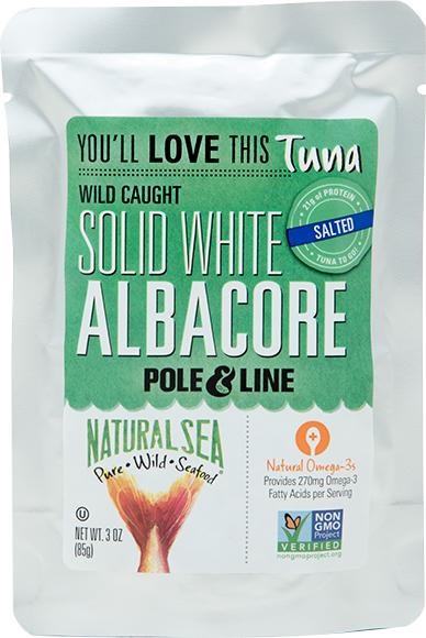 Natural Sea Albacore White Tuna