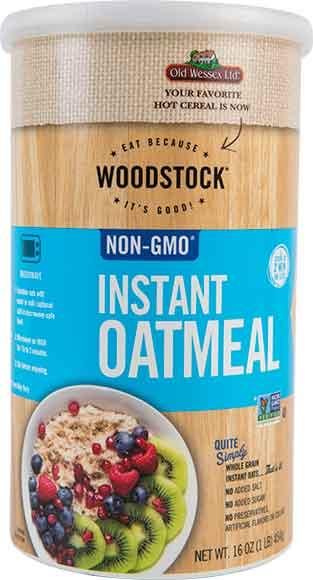 Woodstock Instant Oatmeal