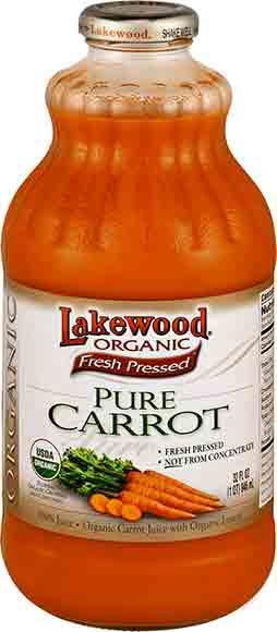 Lakewood Organic Carrot or Beet Juice