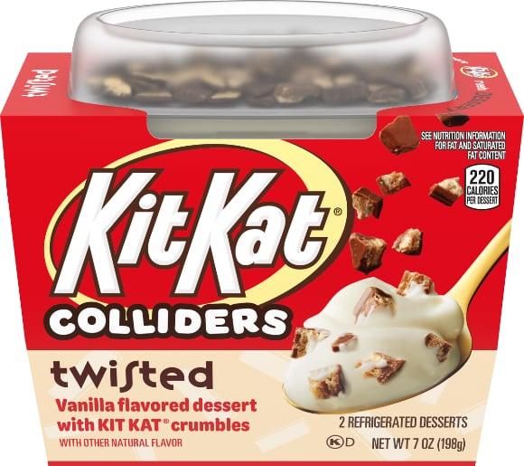Colliders Twisted Kit Kat or Reeses Dessert