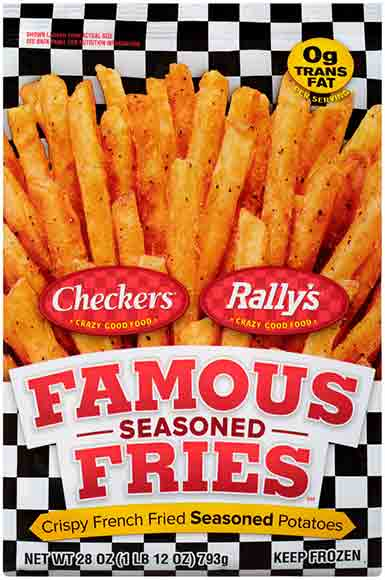 Arby's, Rally's or Red Robin Seasoned Fries