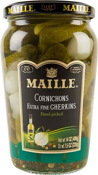 Maille Cornichons Extra Fine Gherkins