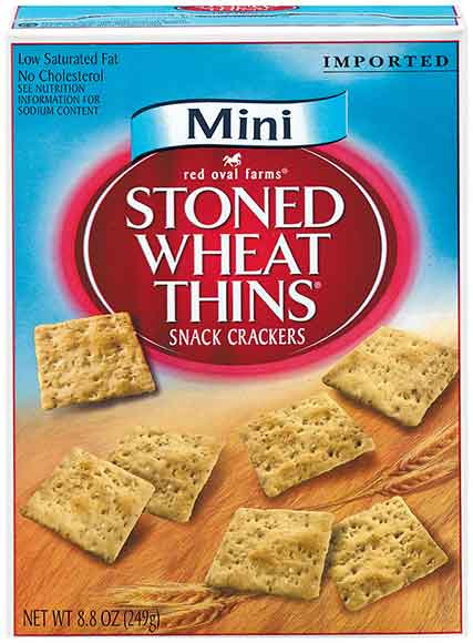 Red Oval Farms Stoned Wheat Thins