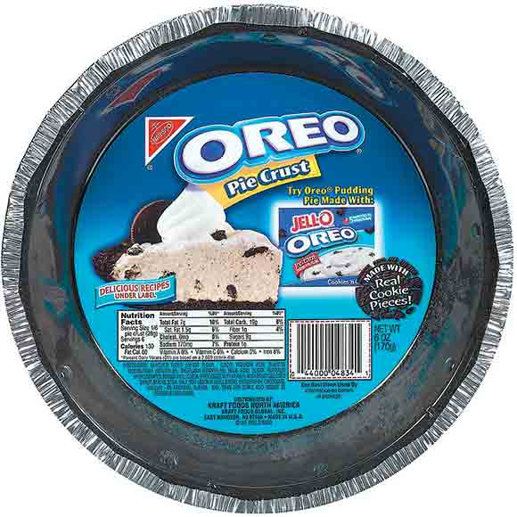 Nabisco Oreo Cookie Pie Crust