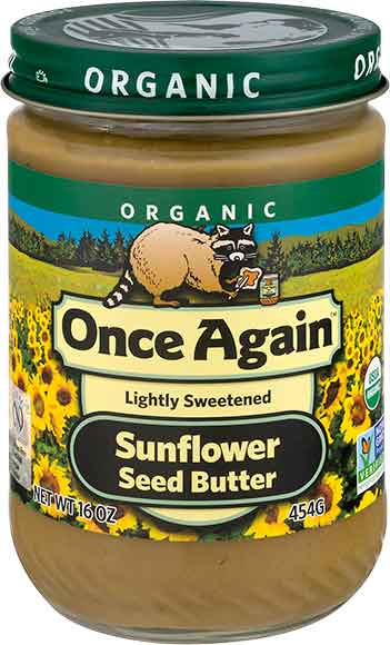 Once Again Sunflower Seed Nut Butter