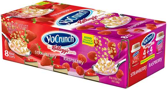 YoCrunch 8-Pack Yogurt