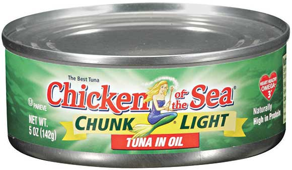 Chicken of the Sea Chunk Light Tuna