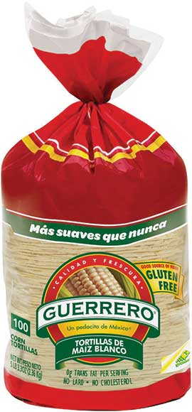 Guerrero 100ct Corn Tortillas