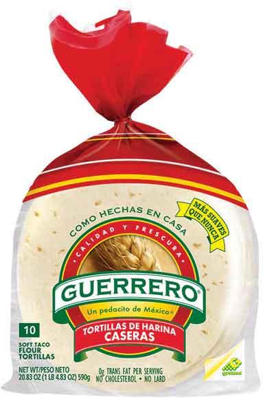 Guerrero Caseras Flour Tortillas